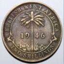 Британская Западная Африка 2 шиллинга 1946 г.