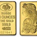 Подарочные золотые слитки