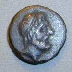Медная монета Тиры