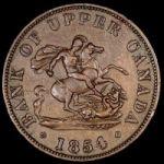 Монеты канадских провинций