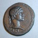 Боспорский сестерций с Домицианом