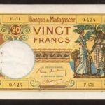 Банкноты Мадагаскара