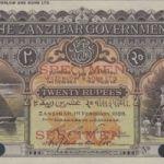 Банкноты Занзибара