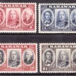 Коммеморативные марки Саравака