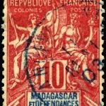 Старые марки Мадагаскара