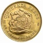 Золотые песо Чили