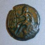 Монета Керкинитиды со скифом