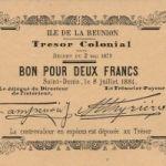 Старинные банкноты Реюньона