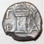 Монета Тиры с Асклепием