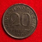 20 фенигов Польши