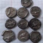 Серебряные монеты Истрии