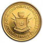 Монета Бурунди