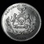 Монета Биафры