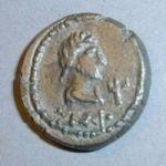 Боспорский статер 250 г. н.э. с трезубцем