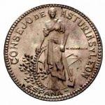Монета Астурии-Леона