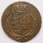 Варшавское герцогство 3 гроша 1812 г.