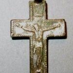 Козацкий серебряный крестик