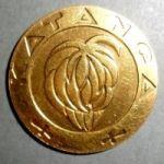 Катанга. 5 франков 1961