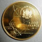 Чад. 3000 франков 1970