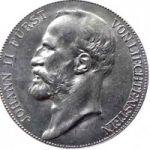 Лихтенштейн. 5 крон 1904