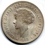 Люксембург. 10 франков 1929