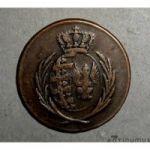 Варшавское герцогство. 3 гроша 1812