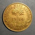Британская Западная Африка. 2 шиллинга 1946