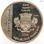 Сен-Бартелеми. 1 1/2 Евро 2004 г. 120 $