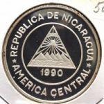 Никарагуа. 10000 кордоба 1990 г. Цена договорная