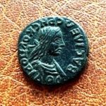 Рескупорид III. Денарий. 170