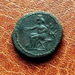 Савромат III. Денарий . 230