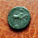 Савромат III. Денарий. 450