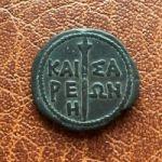 Кесария (Пантикапей). 8 Унций. 37-38 гг. н.э.