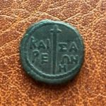 Кесария (Пантикапей). 8 Унций. 37-38 гг. н.э
