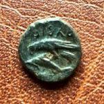 Ольвия. Дихалк. 380-360 гг. до н.э.