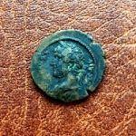 Провинциальный Рим. Монета императора Адриана. II век н.э.
