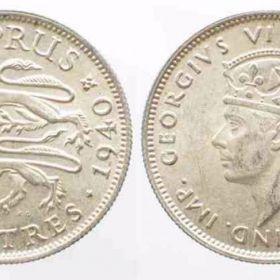 Монеты британских колоний