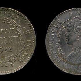 Монеты Мартиники