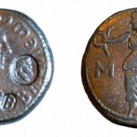 Монеты Боспора с надчеканками