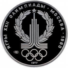 Монеты из платины Олимпиада-80