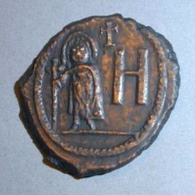 Херсонесские монеты Юстина II