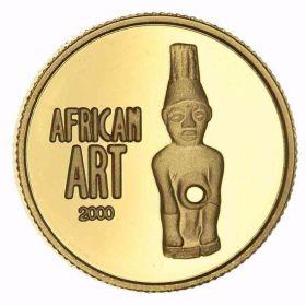 Золотая монета Конго