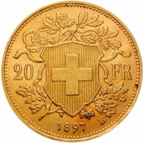 20 франков Швейцарии