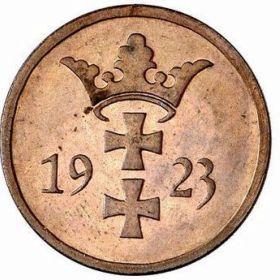 Монеты Данцига 1923 г.