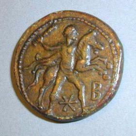 Монета с подвигом Геракла