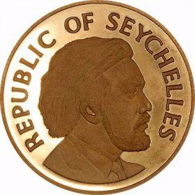 Памятная монета Сейшельских Островов