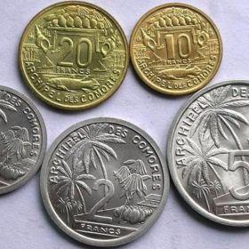 Монеты Коморских Островов