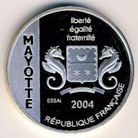 Монета Майотты