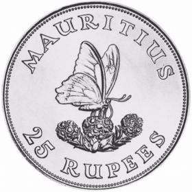 Монета Маврикия