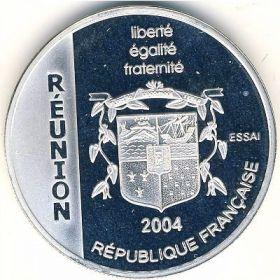 Монета Реюньона